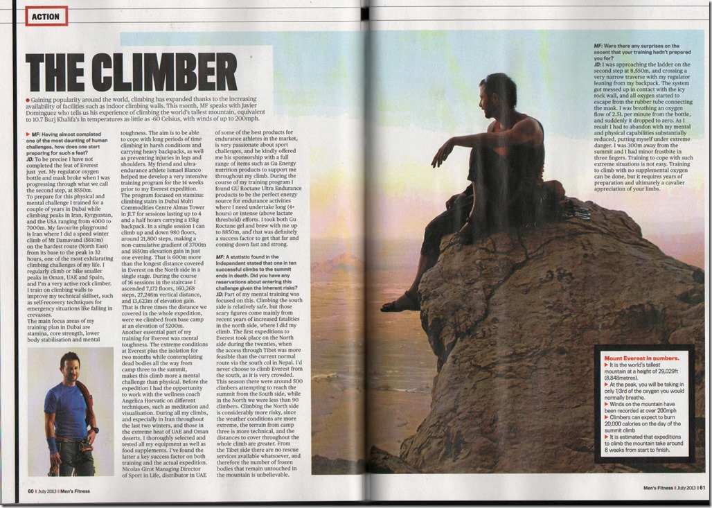 Men's Fitness July 2013 P60-61